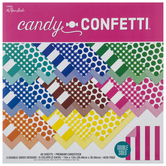 "Candy Confetti Double-Sided Cardstock Paper Pack - 12"" x 12"""